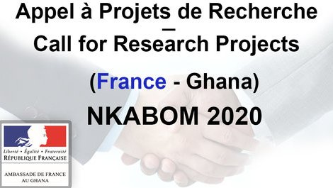 Call for Research Projects | France - Ghana | NKABOM 2020