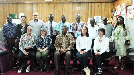 ParisTech visits Ghana as part of the ADESFA Programme