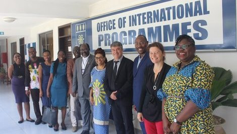 Visite de l'université Grenoble Alpes au Ghana