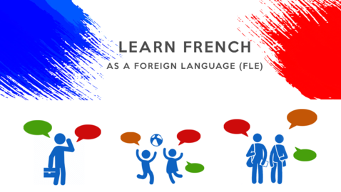 Toolbox for learning French (FLE)