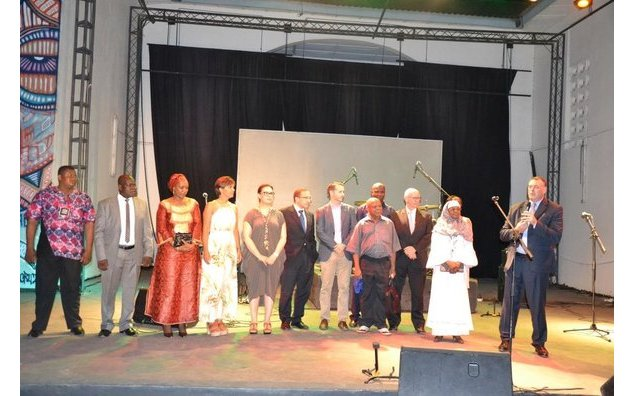 The Francophone Ambassadors opening the 2016 Festival