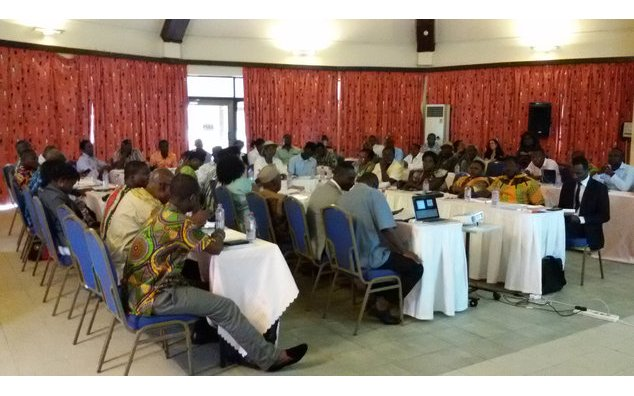 Social Audit Committees' training, Cape Coast, 15th June, 2016. ©France-Ghana Cooperation